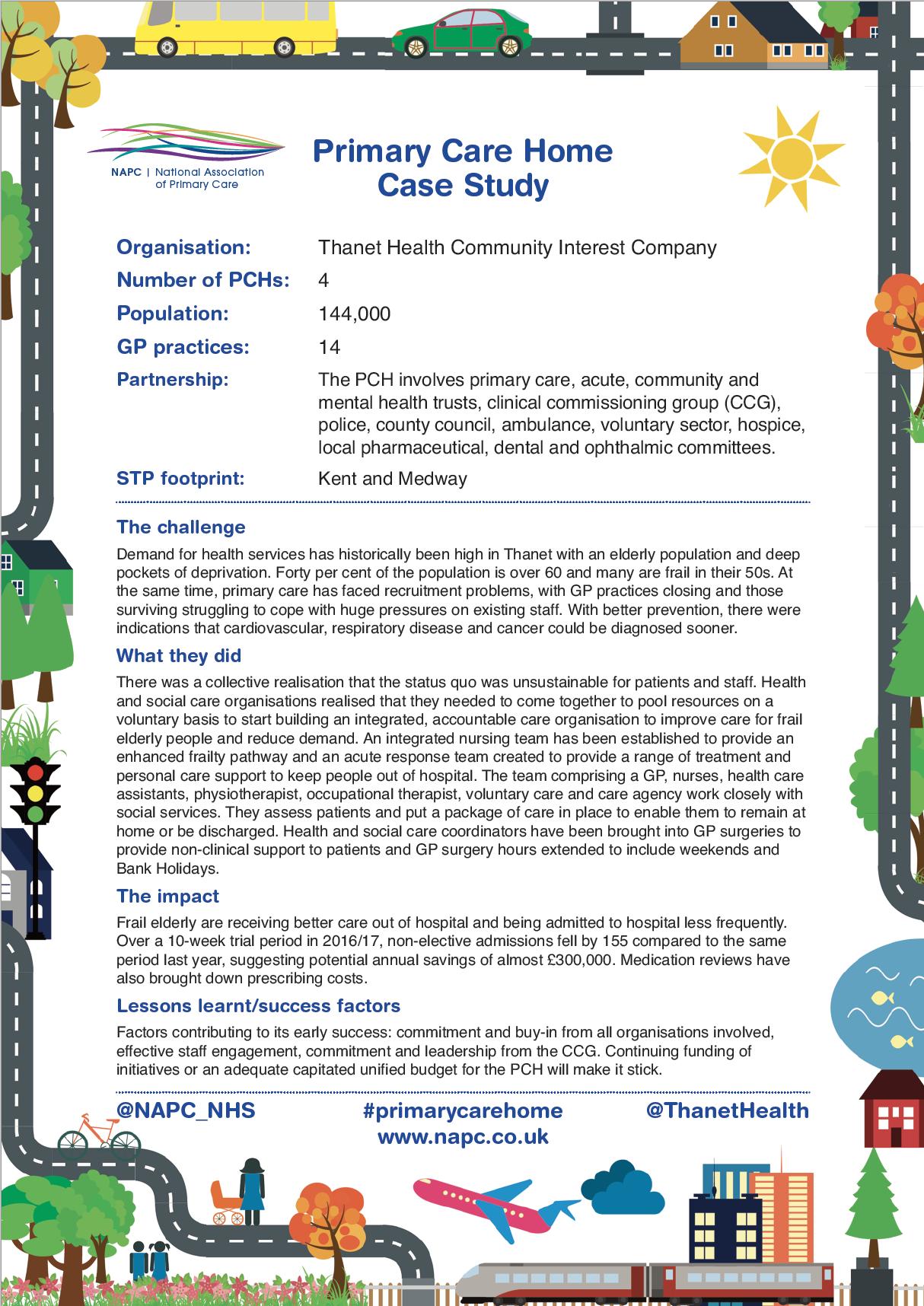 NAPC case study - Thanet