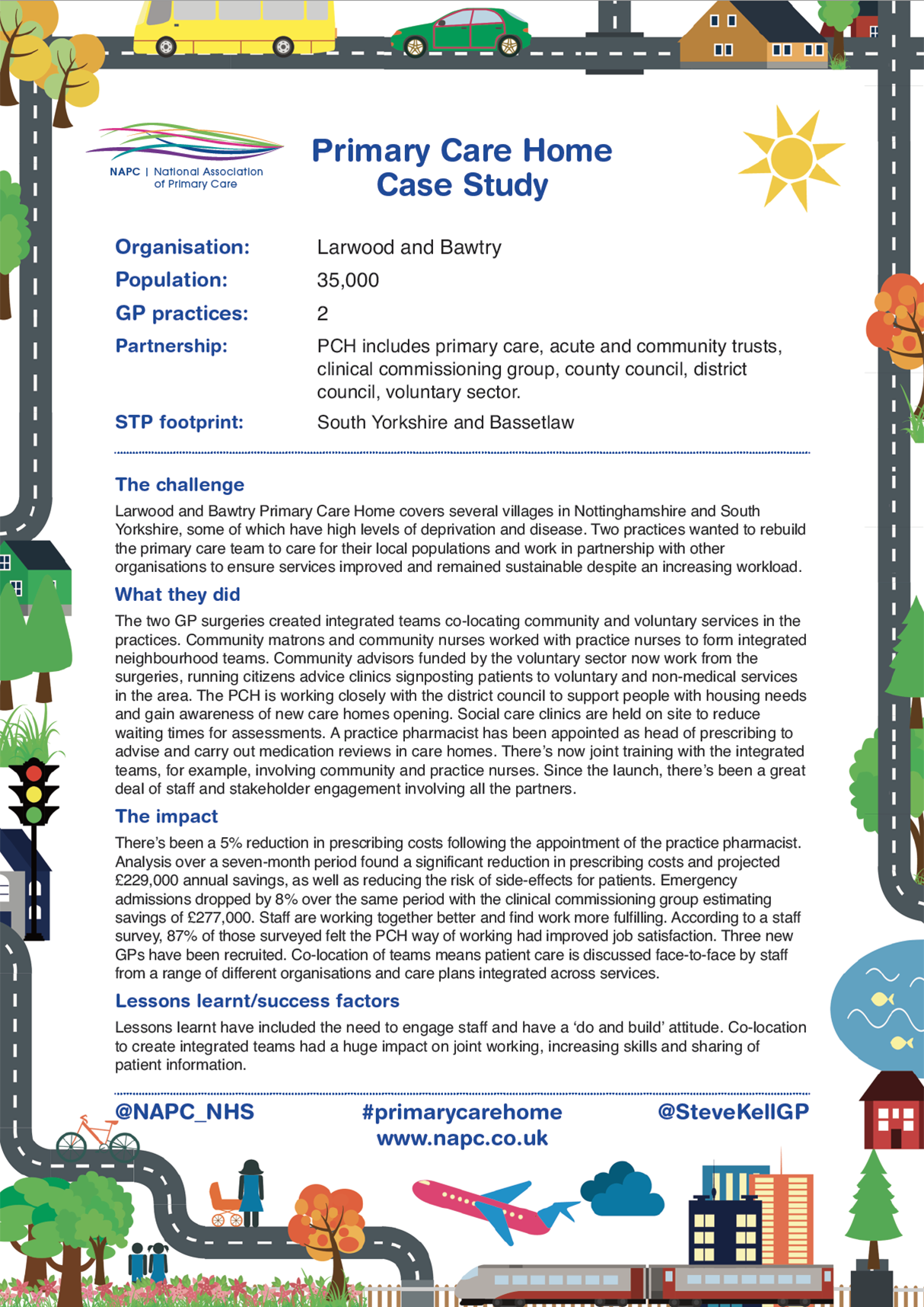 Case study - Larwood and Bawtry