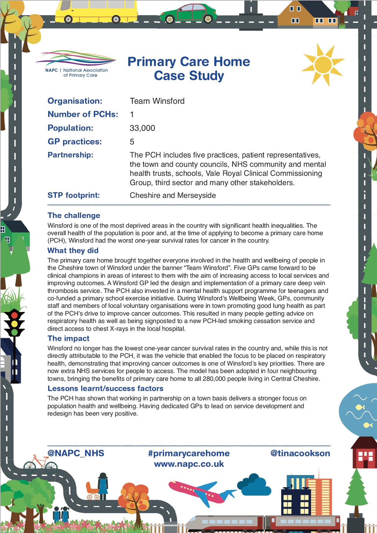 NAPC case study - Team Winsford