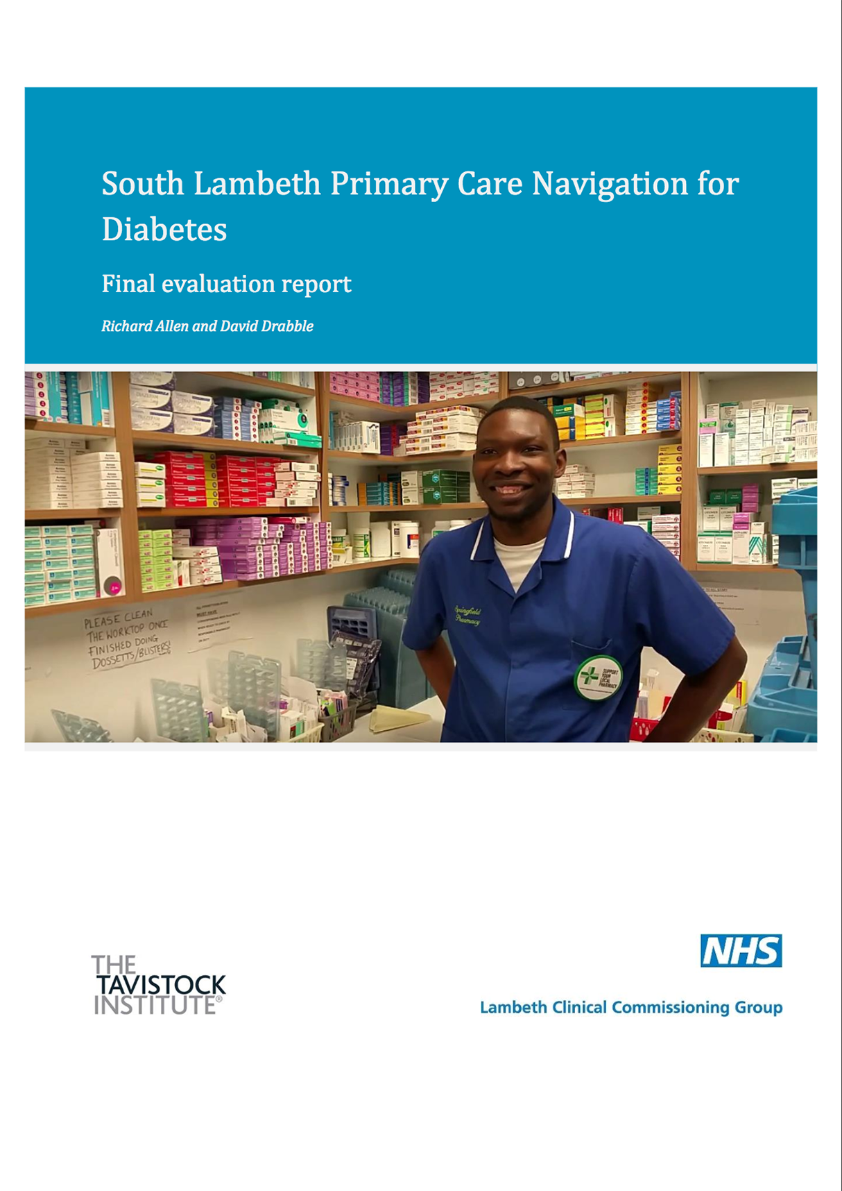 Lambeth PCN Evaluation report
