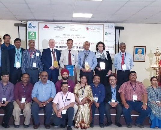 NAPC helps develop disaster medicine programme in India