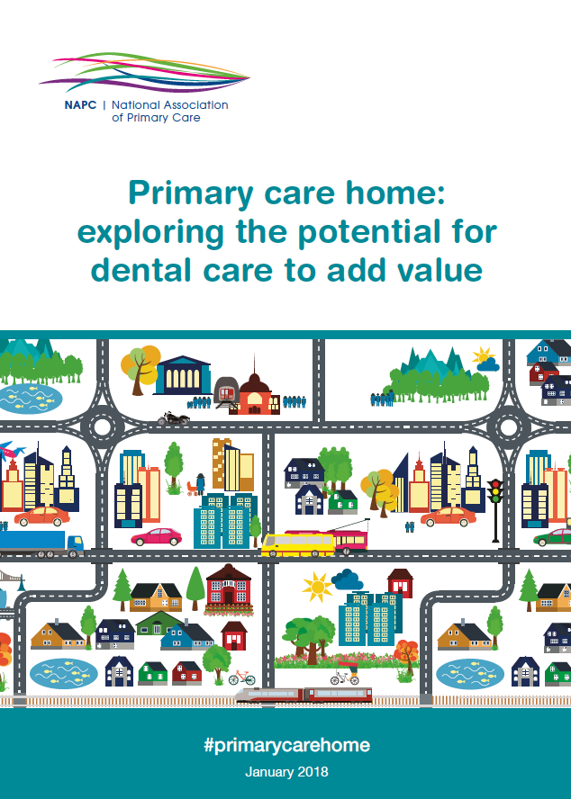 Primary Care Home dental care booklet