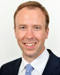 Matt Hancock, Health and Social Care Secretary