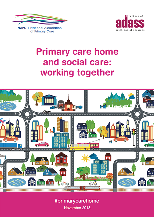 Primary Care Home social care booklet